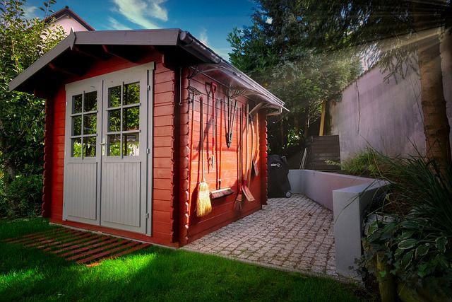 installer studio dans le jardin