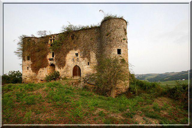 Diaporama château Belzunce - Ayherre