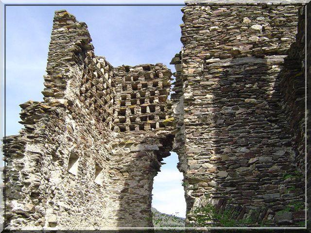 Diaporama château de Saint Julien d'Arpaon