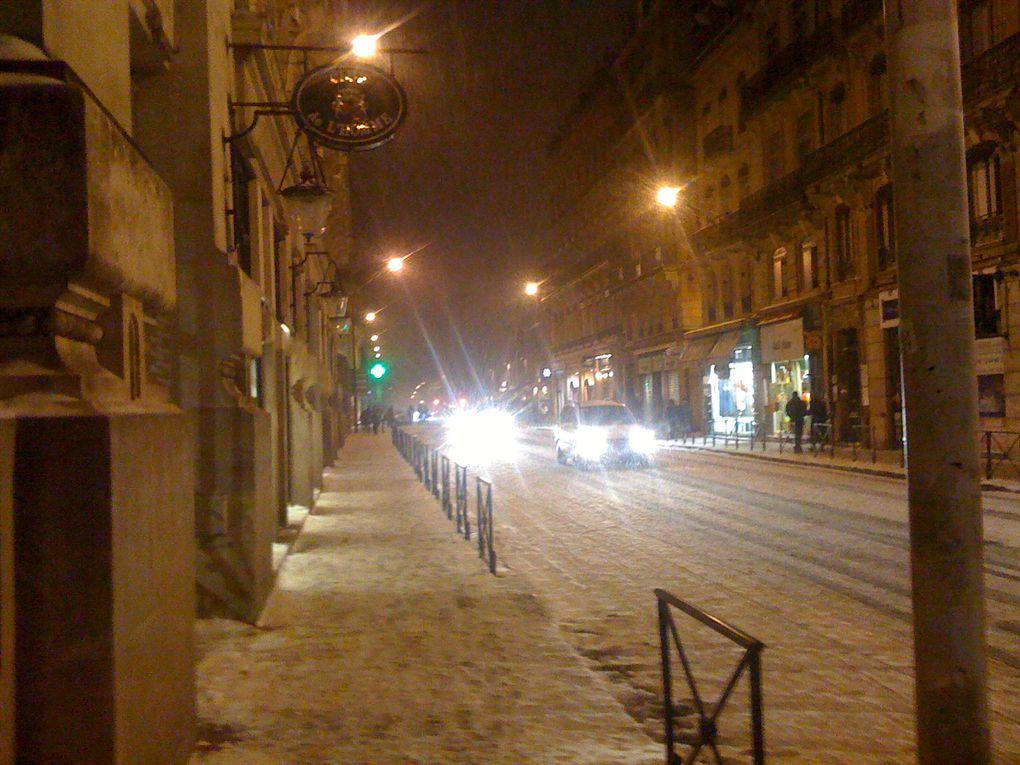 Toulouse sous la neige, pas courant !