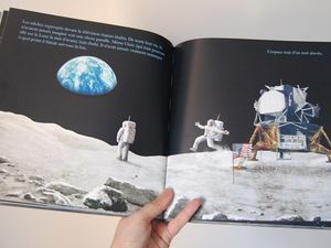 Lecture kids - 'Le noir de la nuit' de Chris Hadfield