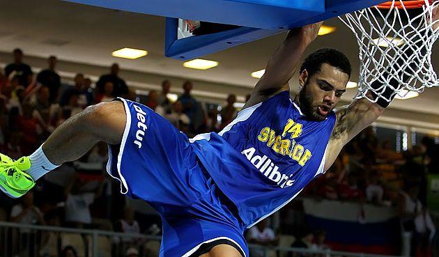 Eurobasket: La Suède sans pitié face à la Russie