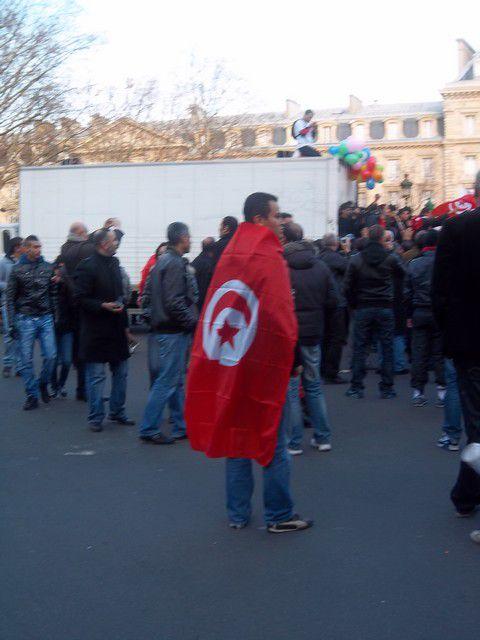 Manifestation du samedi 15 janvier 2011 à Paris.