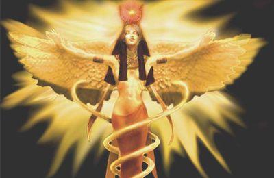Canalisation reçu le 23.02.2020 de la Déesse Isis de retour pour le Nouvel Age d'Or de la part des guides Lumières éclairés Angelo et Virginie.