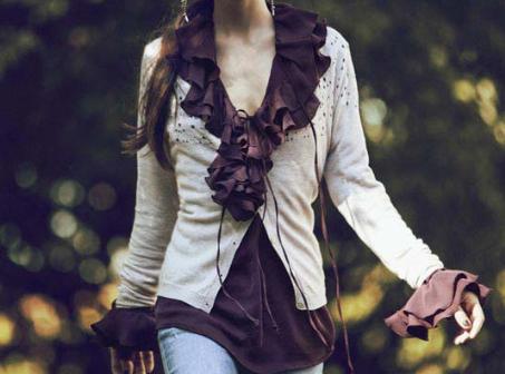Denny Rose collezione autunno inverno 2012-2013: maglieria e abiti