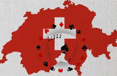 Jouer au Poker Texas Hold'em avec croupiers live en Suisse