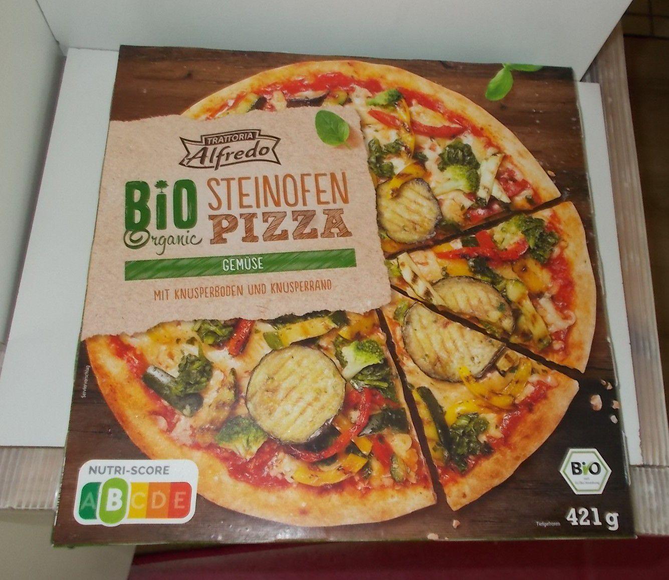 Lidl Alfredo Bio Steinofen Pizza Gemüse