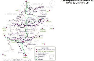 Le Quercy en 200 questions - Laurence Catinot-Crost