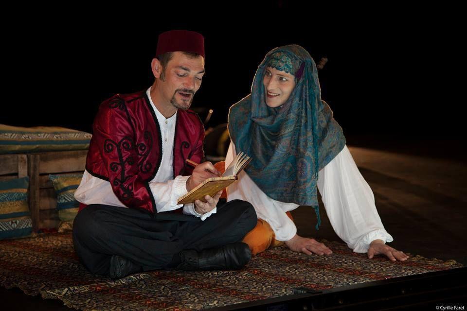 Photos de répétitions au Théâtre Gallia réalisées par Cyrille Faret © - Résidence de création au Théâtre Gallia - octobre 2017 - raccords