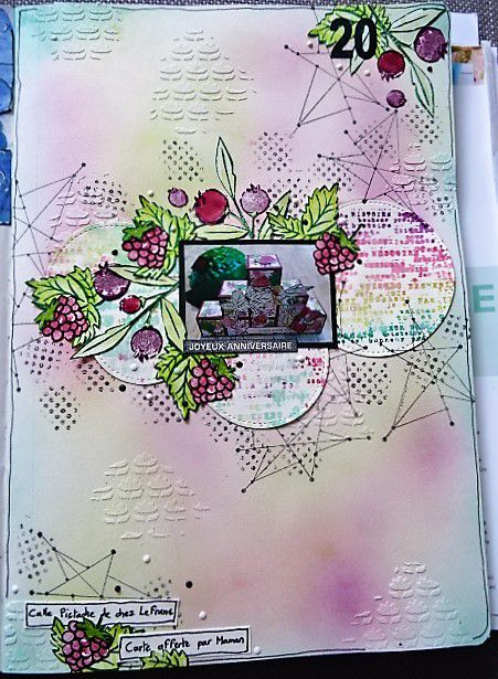 Art Journal/Project Life: Semaine 20.
