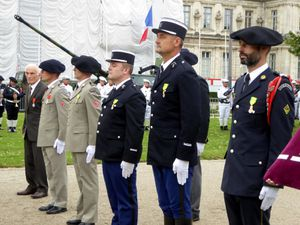 Cérémonie du 14 juillet à Grenoble
