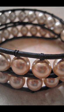 Leather bracelet for ...