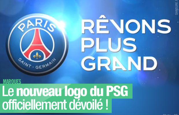 Le nouveau logo du PSG officiellement dévoilé !
