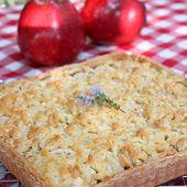 Tarte pommes poires et caramel