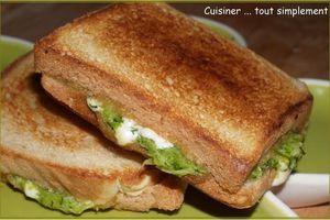 Croque Monsieur (Végétarien) : Courgette - Vache qui Rit®