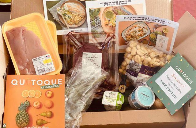 J'ai testé pour vous Quitoque, la livraison de repas à cuisiner chez vous.