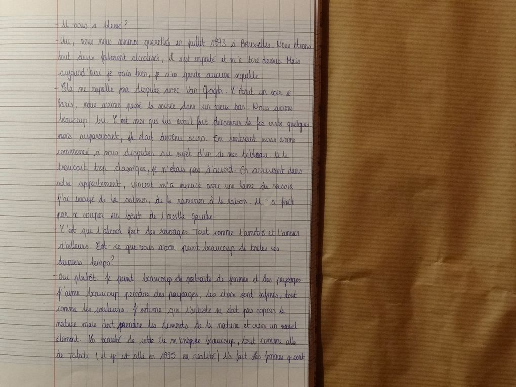 Anthologie de Megan - 1ES1