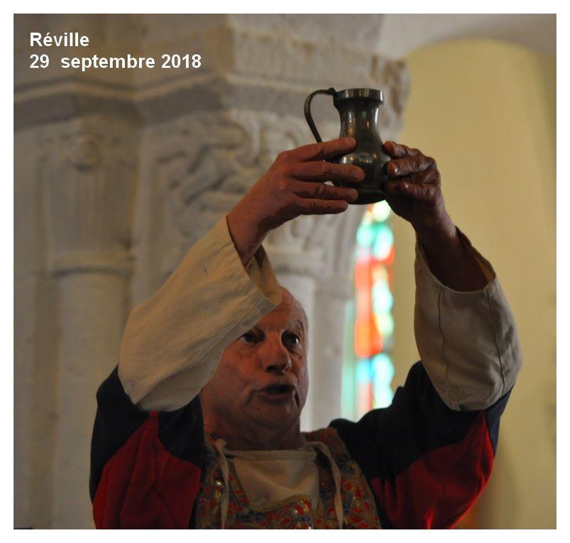 Réville, chant et musique médiévale