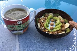 Porridge overnight granola