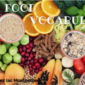 Food vocabulary by yodavir on Genial.ly