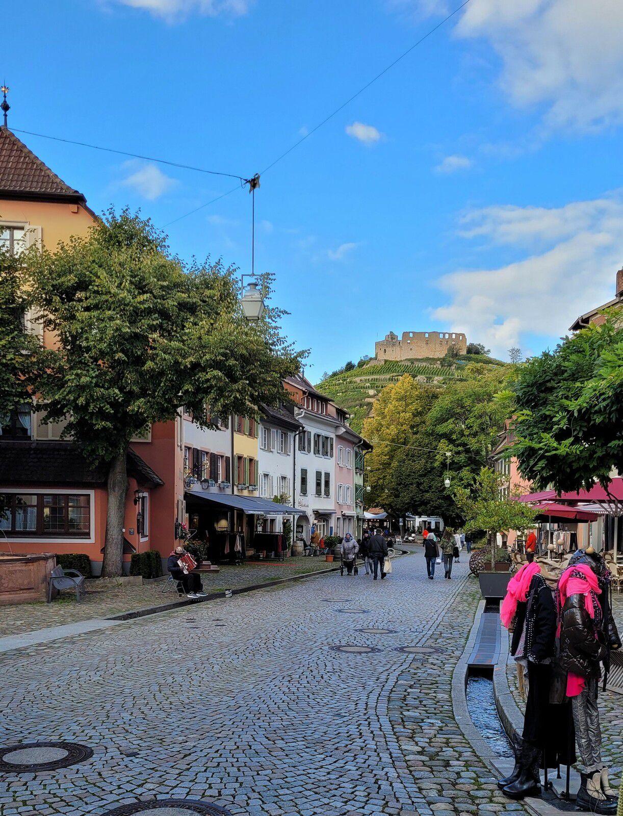 Sortie séniors, c'était le mercredi 13 octobre 2021, de Bad Krozingen à Staufen.
