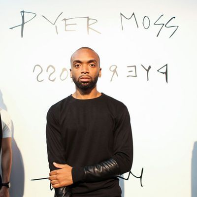 DESIGNER KERBY JEAN RAYMOND OF PYER MOSS WINS THE CFDA VOGUE FASHION FUND 2018
