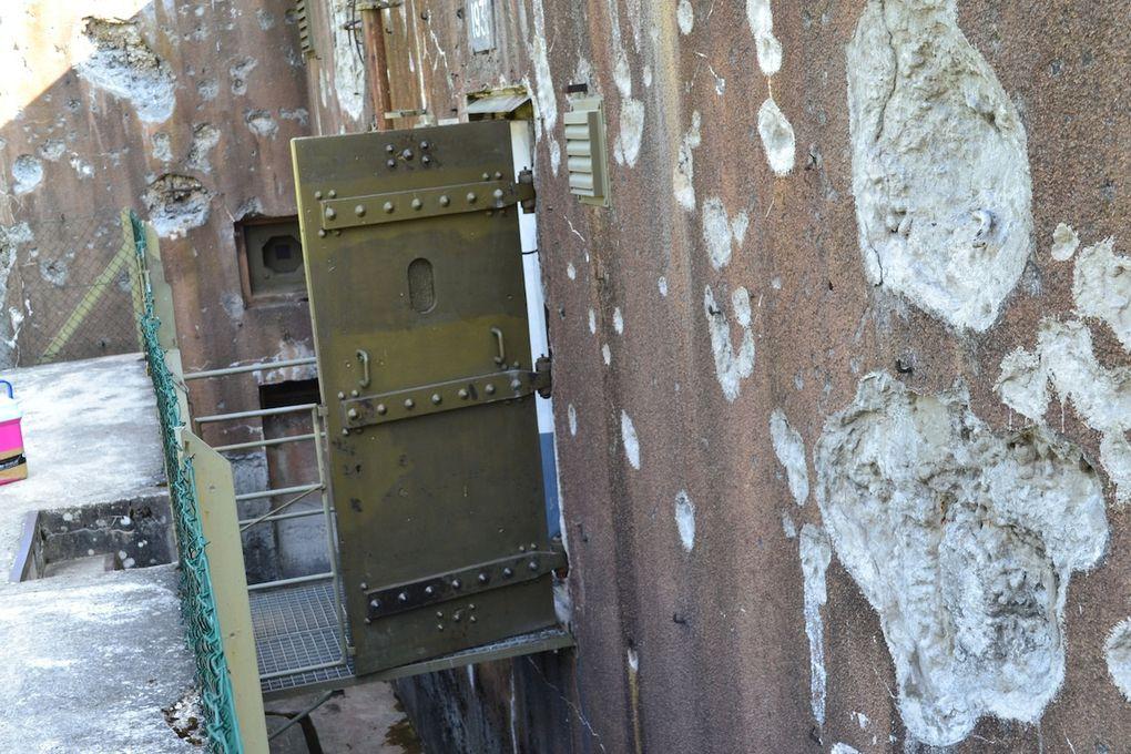 De beaux paysage et la visite d'une casemate de la ligne Maginot avec quelques détails