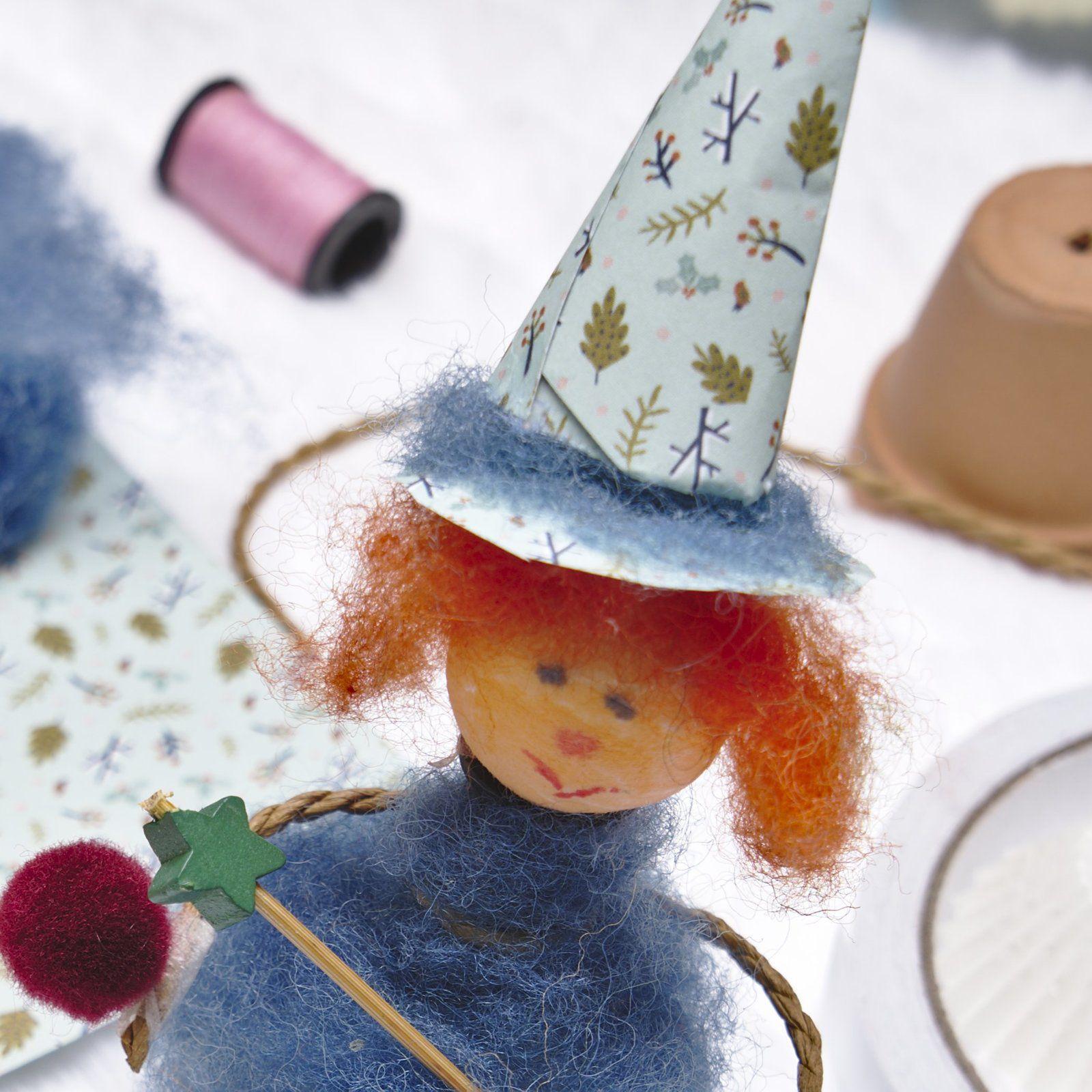 Mardi Bricolage : Une petite fée/sorcière