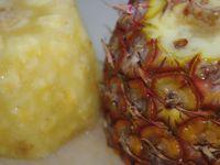 Tarte meringuée à l'ananas