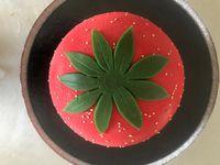 entremets fraise