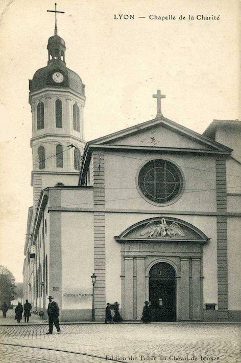 Chapelle de l'hôpital de la Charité à Lyon
