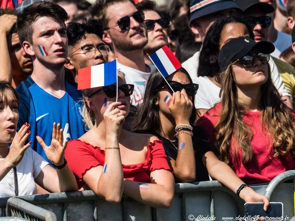 FAN ZONE au CAMPO SANTO D'ORLÉANS: Infos pratiques France/ Uruguay le 10 juillet - Photos du match France Belgique