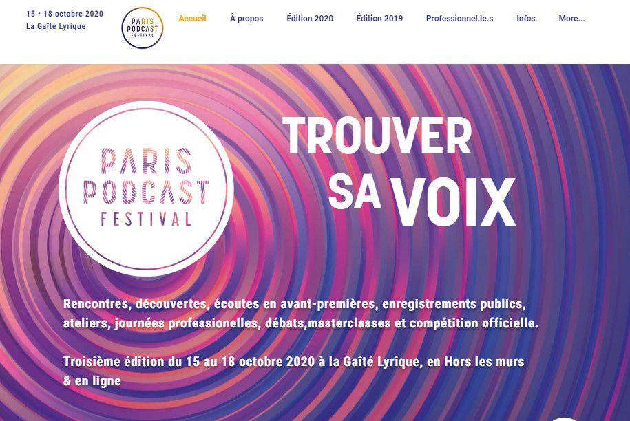 Marketing Event : 3eme édition Paris Podcast Festival