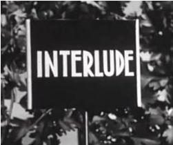 15 septembre 1960: Interlude