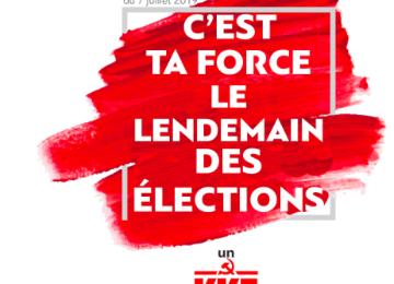 Élections législatives en Grèce, déclaration du Parti communiste grec (KKE)