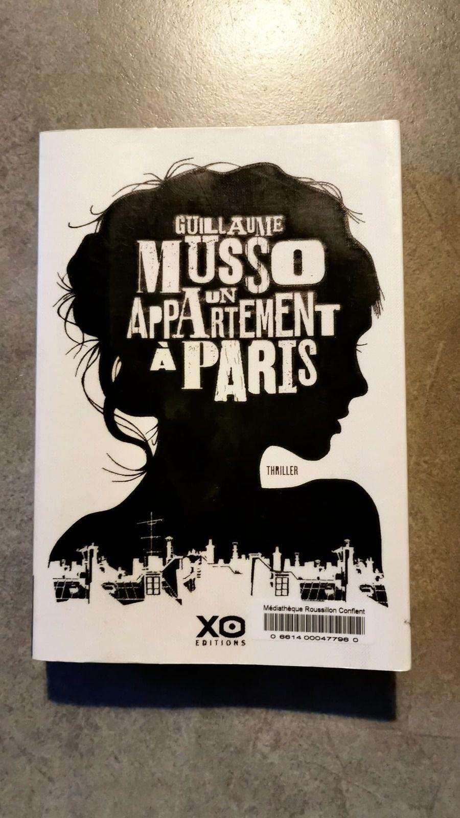 Mon avis sur le livre Un appartement à Paris de Guillaume Musso