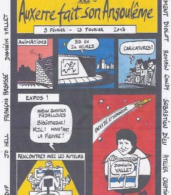Auxerre fait son Angoulême édition 2013