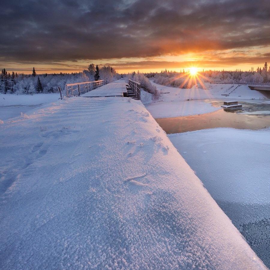Bonne nuit polaire .