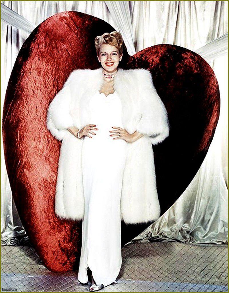 Saint-Valentin retro - Lana Turner