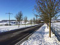 Les routes bien dégagées à Luxembourg et le cyclo-cross à Brouch