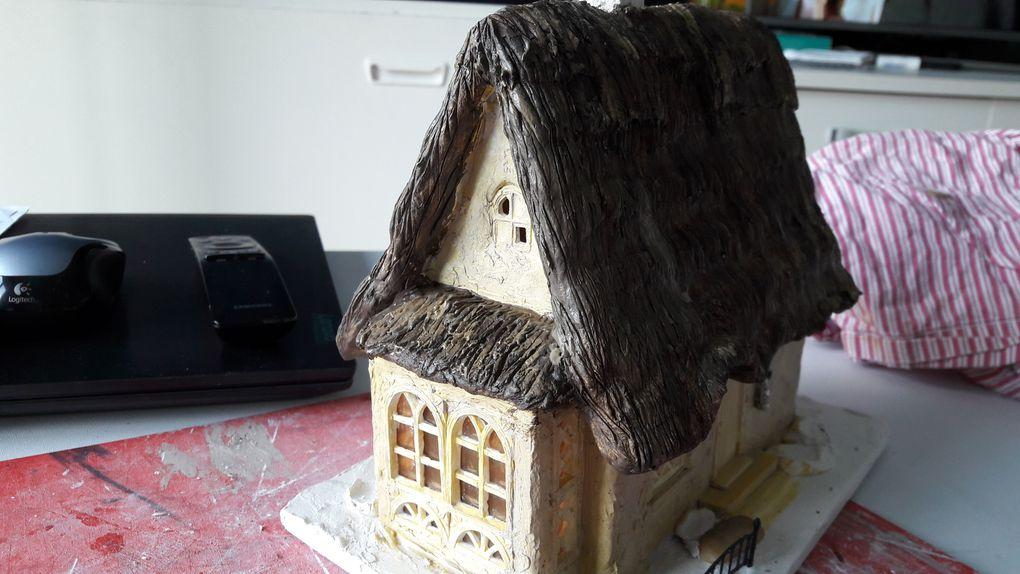 Un logis au toit de chaume