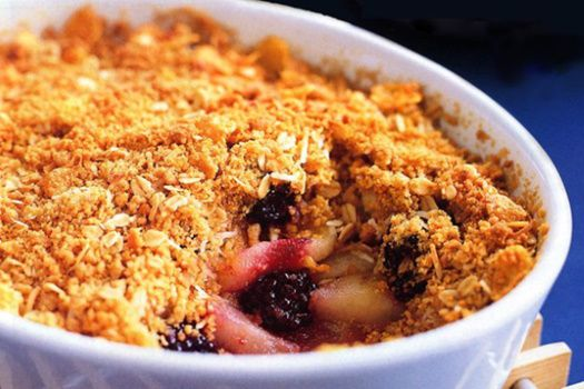 Test - Eliquide - Apple & Blackberry Crumble de chez Chefs Flavours