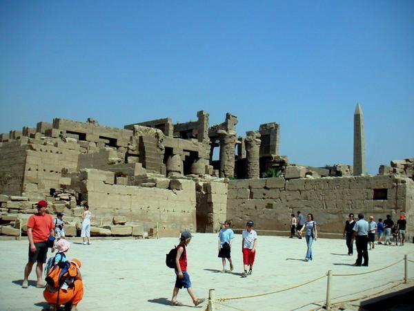Le temple de Karnak en Haute-Egypte. Vous trouverez les articles connexes à cette adresse : http://egypte06.over-blog.com/15-categorie-606524.html