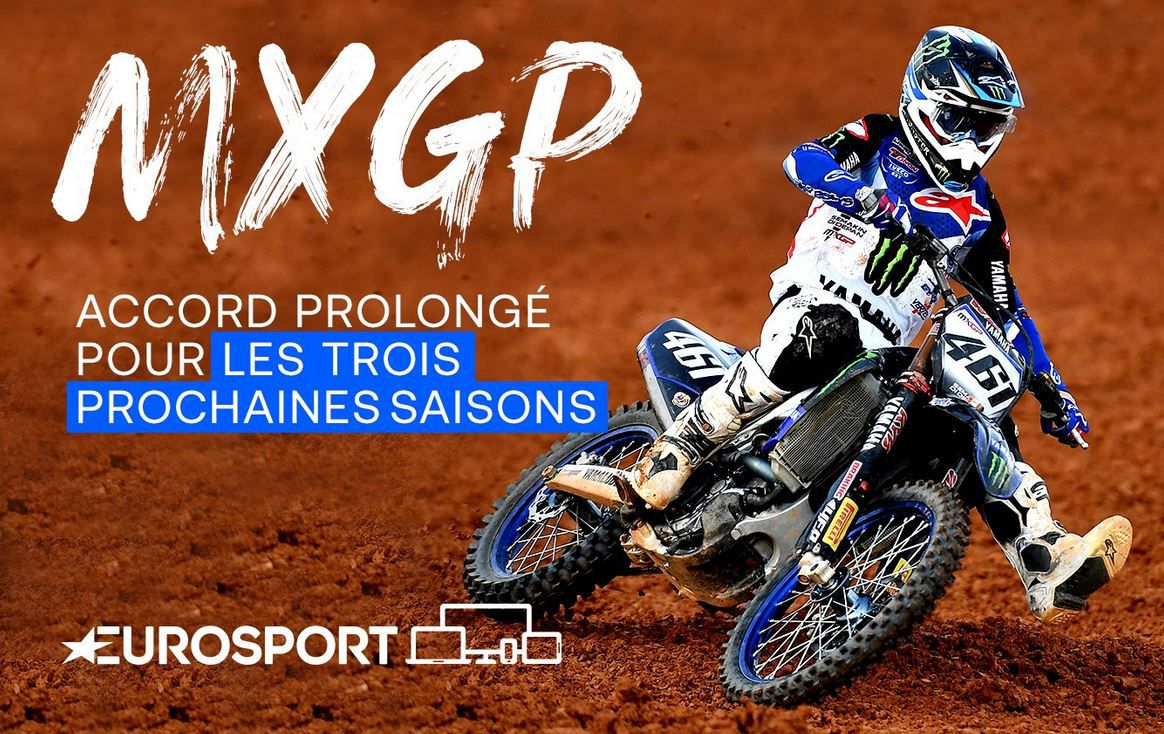 Eurosport prolonge des droits pour la diffusion du MXGP !