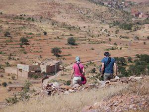 L'agadir de Tasgent (commun aux village d'Amzrou et de Bouka) et ses environs