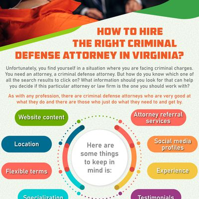How To Hire The Right Criminal Defense Attorney In Virginia?