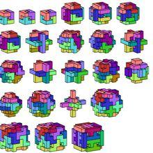 Une idée de bricolage pour les fêtes: fabriquer des cubes et des polycubes en origami