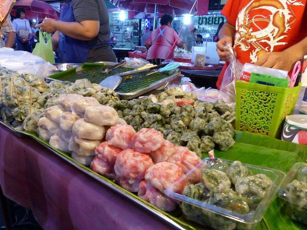 Street food à Na Klua - Gourmandises du jour (19-03)