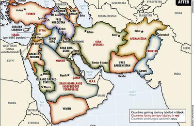 Un projet US qui visait à faire éclater tous les pays de la région – du Moyen-Orient à l'Inde