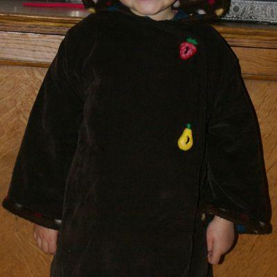 Le manteau Thadée de Citronille pour ma petite bidouillette